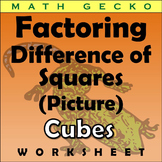 #287 - Factoring Difference of Squares Picture (Cubes)