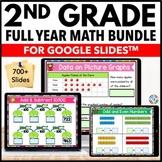 *2nd Grade Google Classroom Math Activities Bundle   Dista