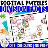 Division Facts Digital Puzzles | Math Fact Practice