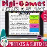 Prefix and Suffix Digital Review Activity Level 2 | Distan