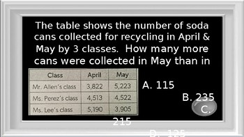 #3 - 4th Grade STAAR Jeopardy Review Game 2017