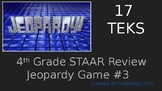 4th Grade STAAR Jeopardy Review Game #3 2016-17