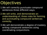 #3 Compound Sentence Punctuation