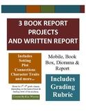 Book Reports - 3 Creative & Fun Book Reports mobile, book