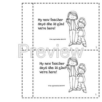 Welcome to Kindergarten Book (Social Story)