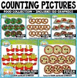 Food Math Counting Pictures Clipart Mega Bundle {Zip-A-Dee-Doo-Dah Designs}