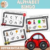 Alphabet Bingo - Upper & Lower Case Letters / Initial Sound