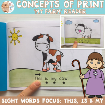 Emergent Reader / Concepts of Print / Sight Words - This Is My