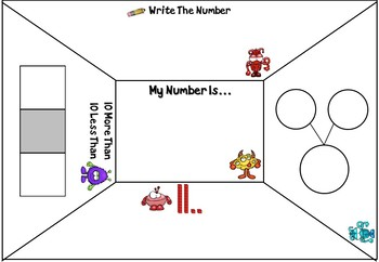 Open Ended Number Mats Boards - Great For Differentiation!