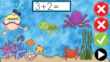 +3 In The Deep Sea - PowerPoint Game