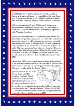 #3 President Thomas Jefferson