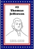 #3 President Thomas Jefferson