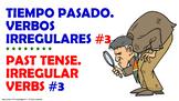 #3. Verbos Irregulares en tiempo pasado en español.