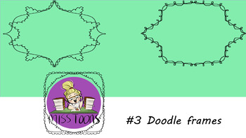 #3 doodle frames