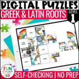 Greek & Latin Roots Digital Puzzles | Distance Learning