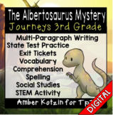 The Albertosaurus Mystery Ultimate Pack: Third Grade Journeys Distance Learning