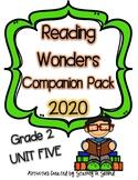 Reading Wonders 2020 Companion Pack Grade 2 UNIT FIVE BUNDLE