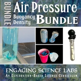Air Pressure, Buoyancy, and Density: A Bundle of Lab Experiments