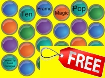 Ten Frame Magic Pop Morning Routine and Math Lesson Interactive