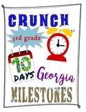10-Day 3rd Grade Math Georgia Milestones Test Prep Printable Distance Learning