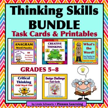 THINKING SKILLS BUNDLE •  GRADES 5–8
