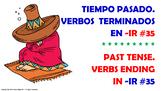 #35. Verbos Irregulares en tiempo pasado en español.
