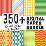 Digital Paper Bundle [350+]  (Papers for Backgrounds & Designs)