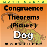 #352 - Triangle Congruence Theorems Picture (Dog)