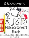 3MD CCSS Standard Based Assessments - Inclues All 8 Standards!