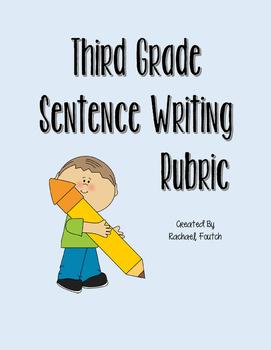3rd Grade ELA Sentence Writing Rubric