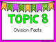 (3rd Grade) Envision Math Vocabulary Posters: Topic 8