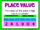 (3rd Grade) Envision Math Vocabulary Posters: Topics 1-16 BUNDLE!