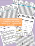 ** 3rd Grade Math Data Tracker - Includes All Common Core Math Standards! **