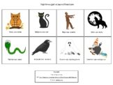 Карточки для игры на Хеллоуин. РКИ и билингвы, 4+