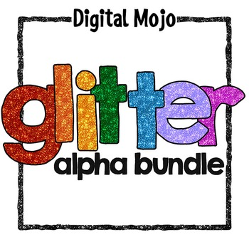 Glitter Alphas Bundle