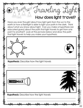 ONTARIO SCIENCE: Gr. 4 & 5 Light and Sound & Properties of and Changes in Matter