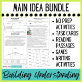 Finding the Main Idea Lessons - Differentiated Activities Bundle
