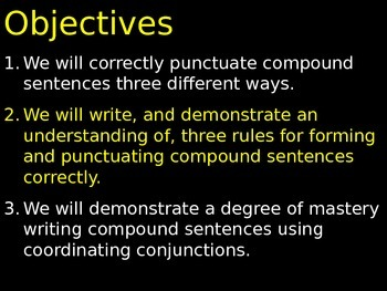 #4 Compound Sentences and Conjunctive Adverbs