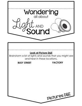 (4) Light and Sound Inquiry Unit