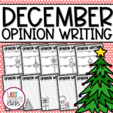 (((4 PAGES))) Christmas Opinion Writing Prompt Templates &