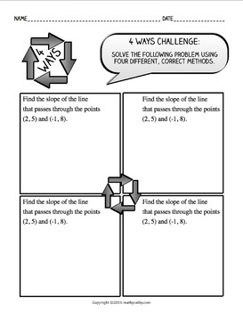 """""""4 WAYS"""" - Encourage Students to Think Creatively & Flexibly in Math Class!"""