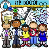 Eye Doctor Clip Art Set - Chirp Graphics