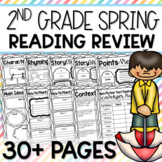 35+ PAGES: Spring into 2nd Grade Reading Review Worksheet Pages