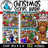 {30% off} Christmas Stories Clip Art Bundle  - Chirp Graphics