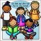 Classroom Kids Clip Art Set - Chirp Graphics