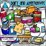 Dairy and Alternatives Food Group Clip Art - Chirp Graphics