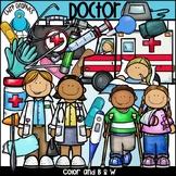 Doctor Clip Art Set - Chirp Graphics