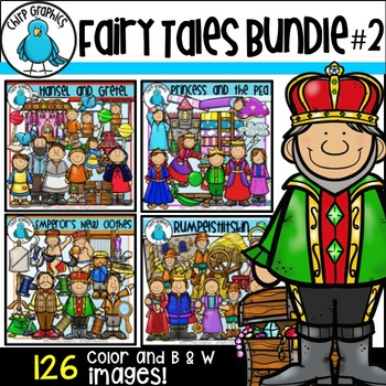 Fairy Tale Clip Art Bundle #2 - Chirp Graphics