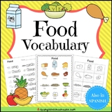 Food Vocabulary for ELLs