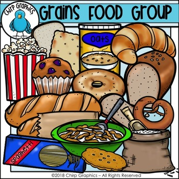 Grains Food Group Clip Art - Chirp Graphics